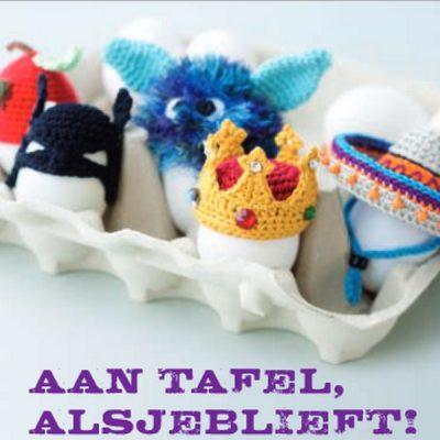 Minimuts haken voor happy easter!