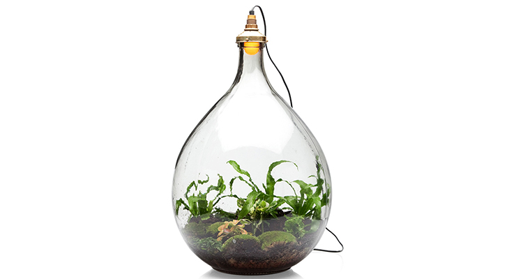 Magische wereld in glas gevangen live green magazine healthy you healthy world better future - Huis lamp wereld nachtkastje ...