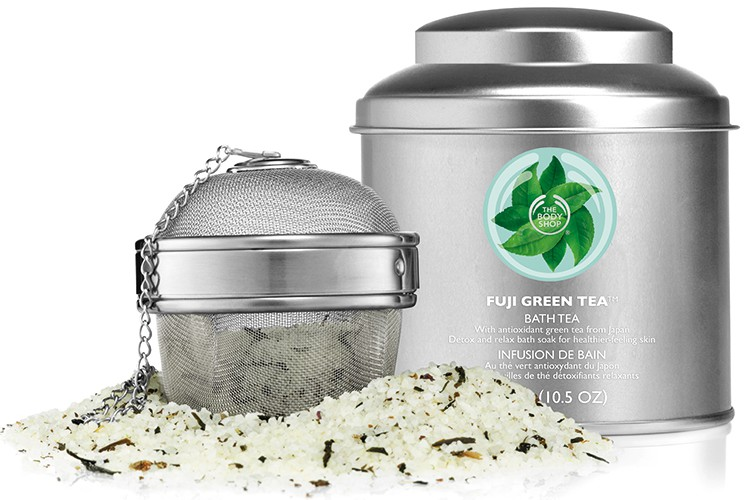 Fris de zomer in met Detox Fuji Green Tea verzorging