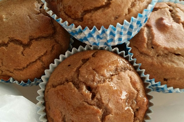 Lactose-, gluten- en suikervrije muffins