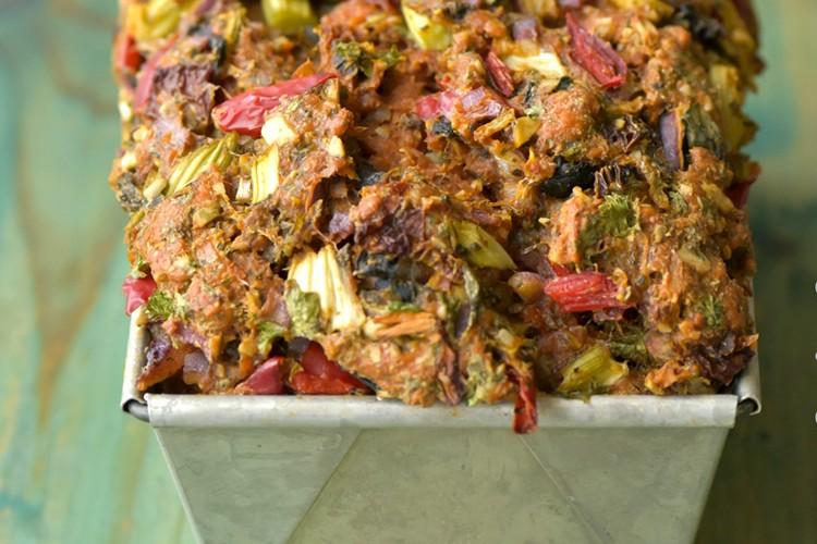 Rineke's groentebrood met jodium