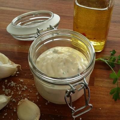 Sandra's (h)eerlijke lactosevrije budget mayonaise