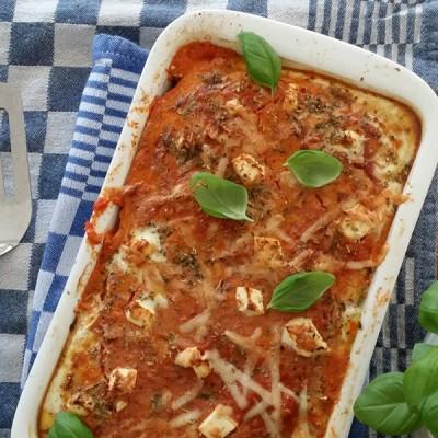 Sandra's (h)eerlijke gluten- en lactosevrije budgetkeuken: courgette lasagne