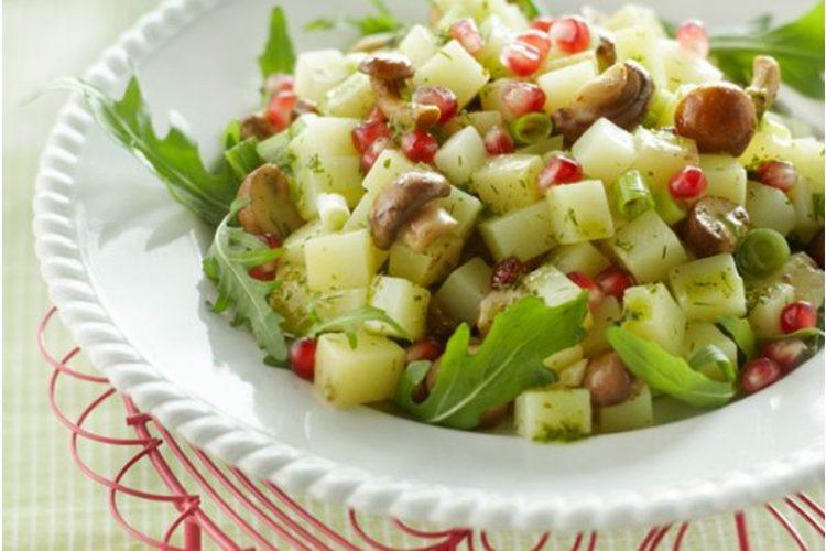 Bio Budget recept: aardappelsalade met dilledressing
