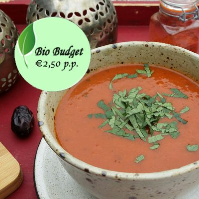 Bio Budgetrecept: (h)eerlijke Oosterse soep
