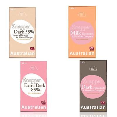 Snapper chocoladereep Australian