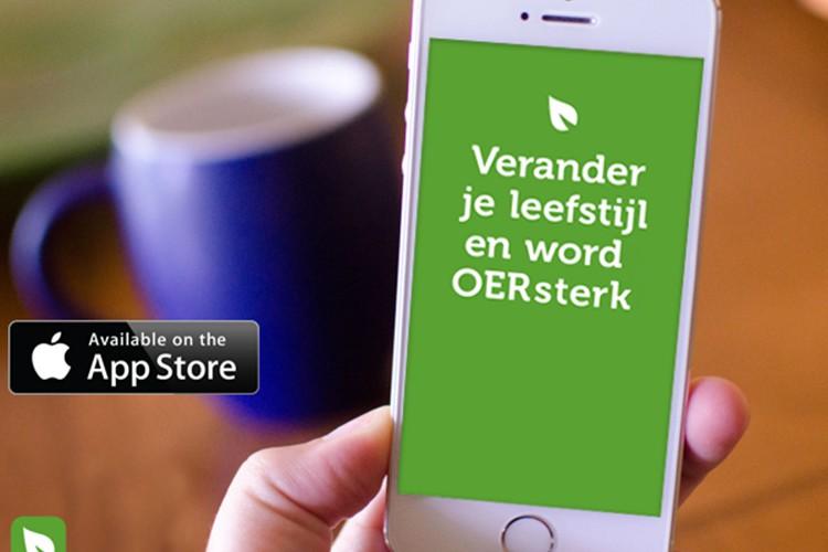 Verander je leefstijl en word OERsterk met de OERsterk app