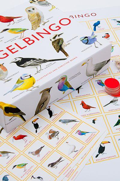 Green GiveAway: vogelbingospel vervangt saai Sinterklaasspel
