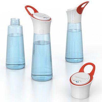 Voldoende water drinken met de Hydranome fles