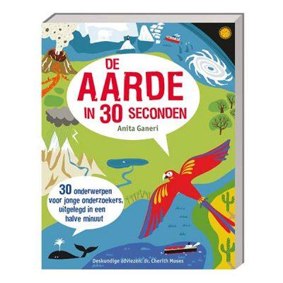 Liesbeth las leerzaam (DIY) boek: De aarde in 30 seconden