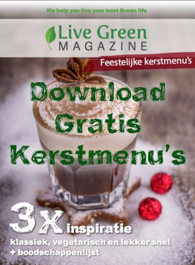 Download gratis 3 kerstmenu's