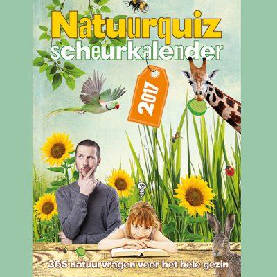 Test jouw natuurkennis met de Natuurquiz scheurkalender