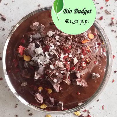Bio Budgetrecept: chocolade modder