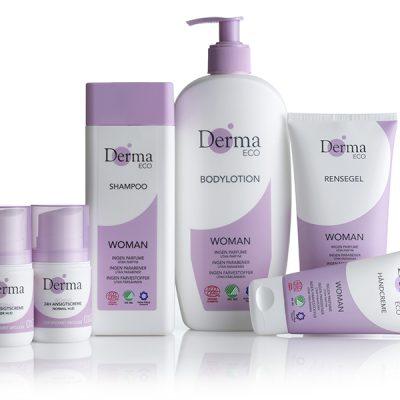 AllergyCertified + biologisch: Derma verzorgingsproducten zeroallergy