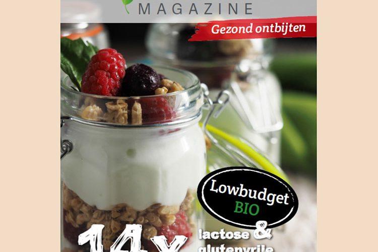 Gratis: E-kookboekje gezond ontbijten