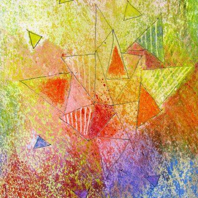 Crayon Rocks: kunstwerk met natuurlijke, biologische