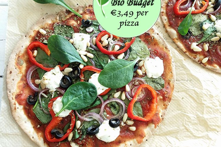 Bio Budgetrecept: gluten- en lactosevrije wrap-pizza