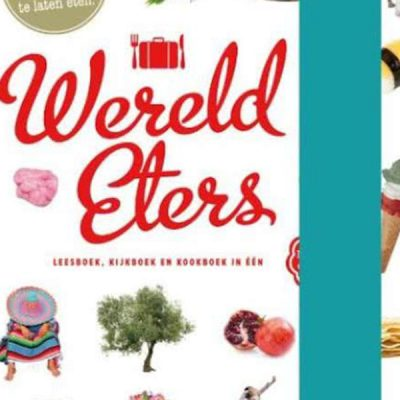 Wereldeters is een lees-, kijk- en kookboek in één