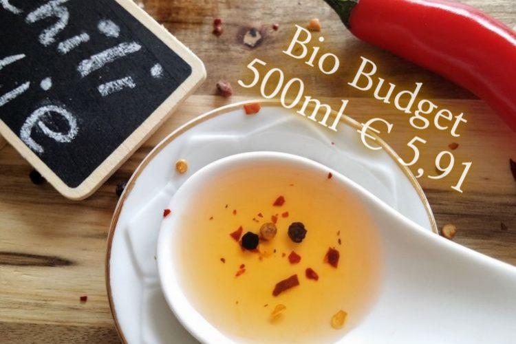 Sandra's biobudget chiliolie