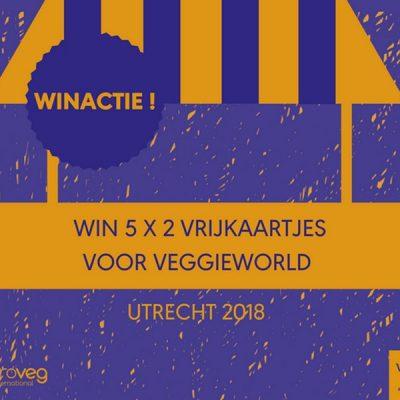 Green GiveAway: kaarten voor VeggieWorld Utrecht