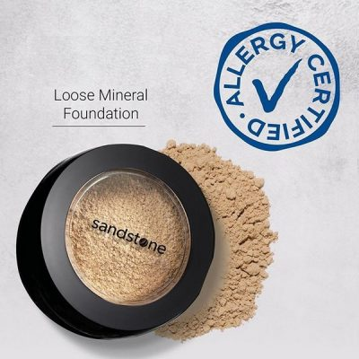 Allergievrije make-up van Sandstone: AllergyCertified