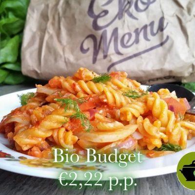 Biobudget vegan fusilli met venkel en tomaat