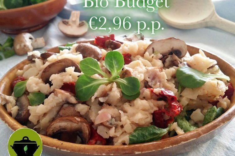 Vegan biobudget romige knolselderij stamp