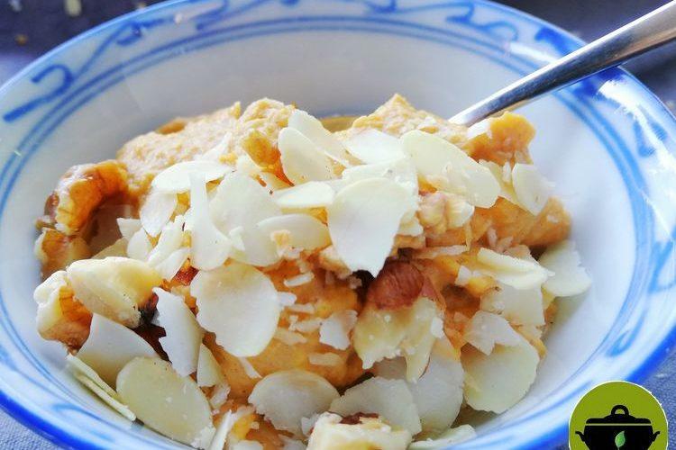 Biobudget gluten- en lactosevrij pompoenontbijt
