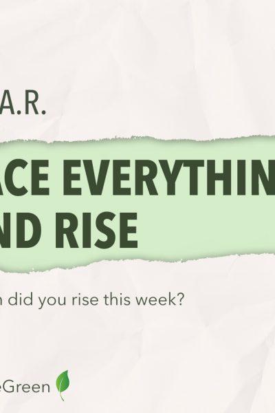 Quote en vraag week3: 'Rise'!