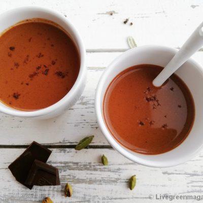 Bio vegan chocolademelk met kardemom