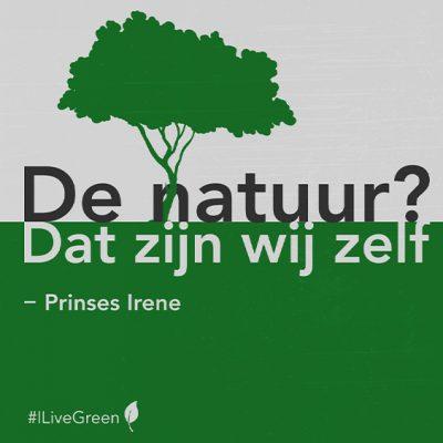 Quote en vraag week17: Natuur