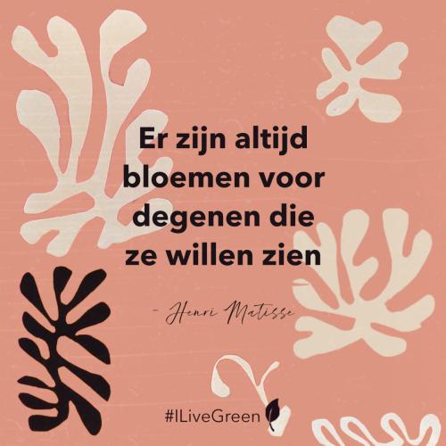 Quote week 19 over bloemen
