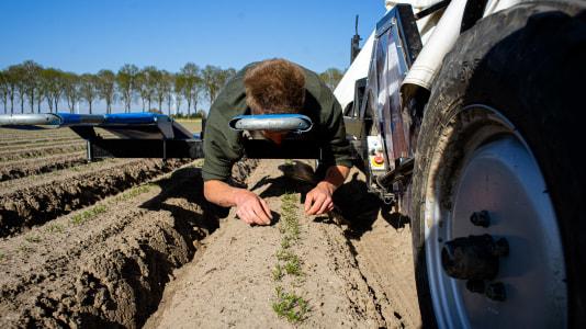 Werk mee bij de bio boer