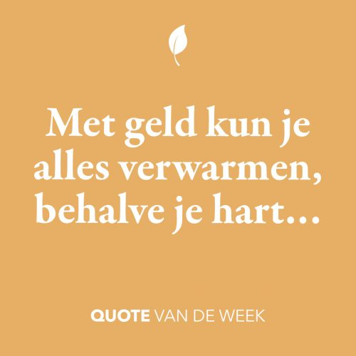 Quote over je hart