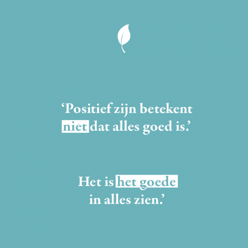 Quote over positiviteit