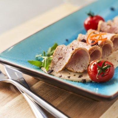 Biologisch kalfsvlees in vitello tonnato